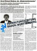 Verwaltungszeitung Baden-Württemberg
